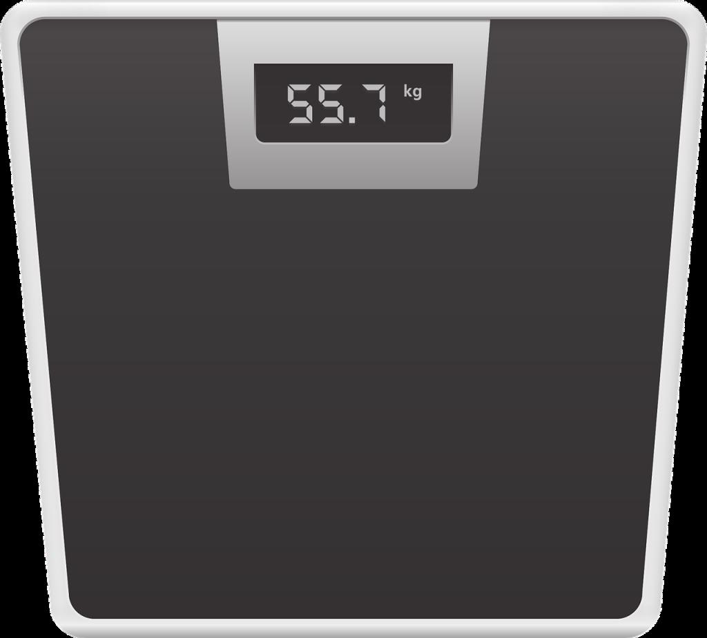 Weegschaal om je gewicht te controleren