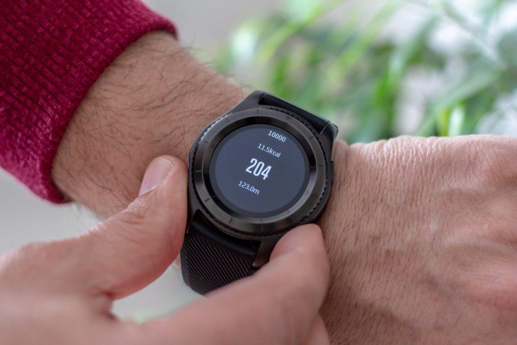 Calorie teller smart watch