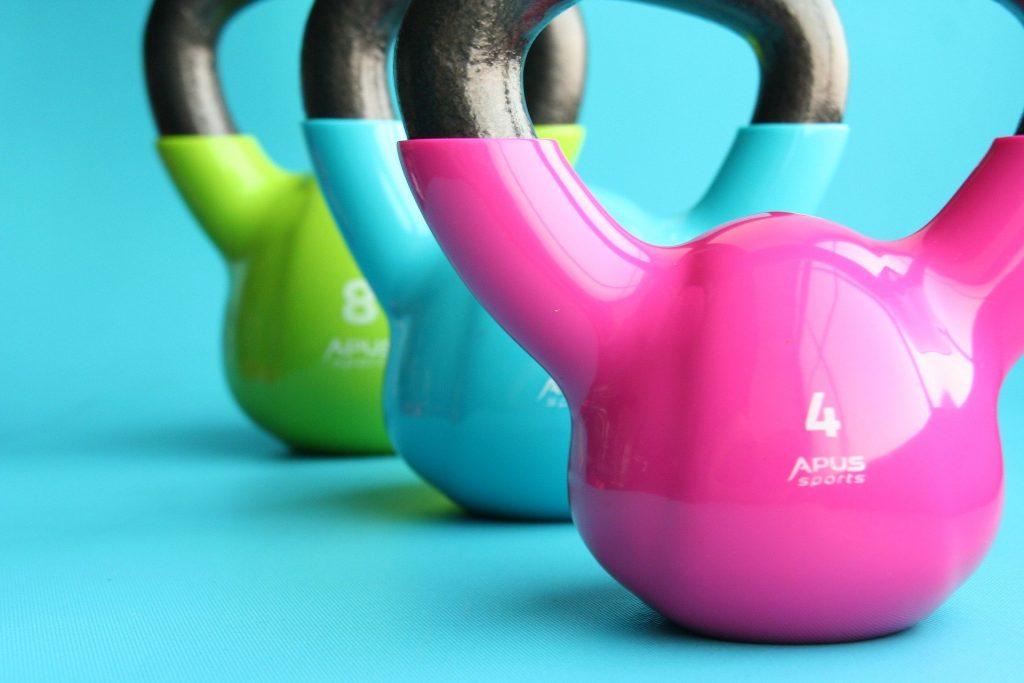 Hiit workout met kettlebells