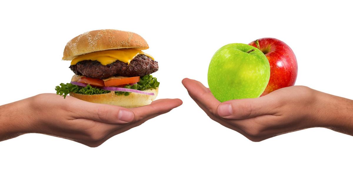 Afvallen ongezond versus gezond