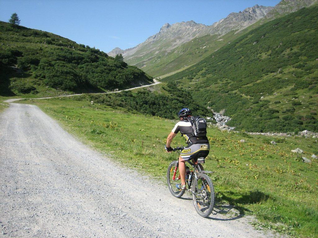 Mtb klimtraining in de bergen