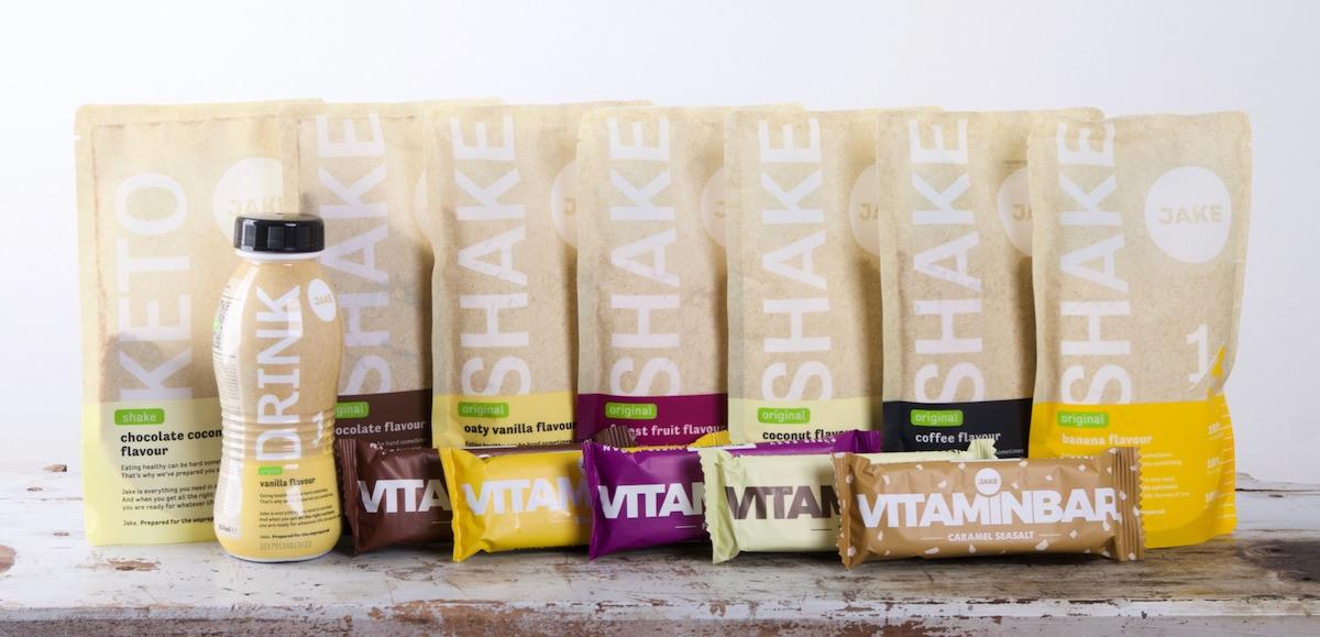 Jake Food maaltijdshakes en vitaminbars