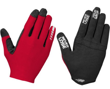 GribGrab Aerolite Insidegrip rood mountainbike handschoen
