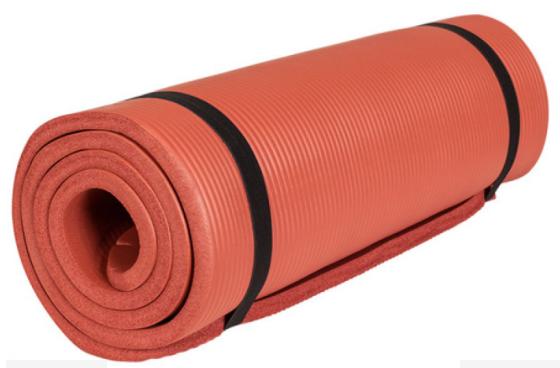 Yogamat deluxe fitnessmat voor thuis