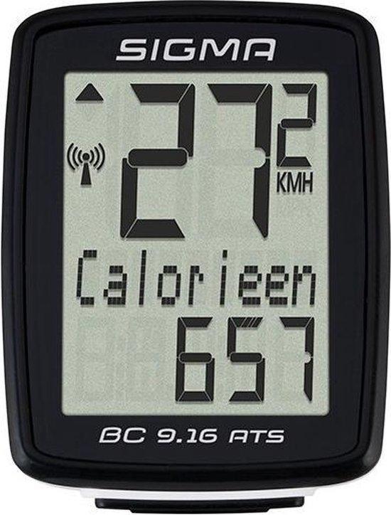 Sigma BC 9.16 ATS draadloze fietscomputer