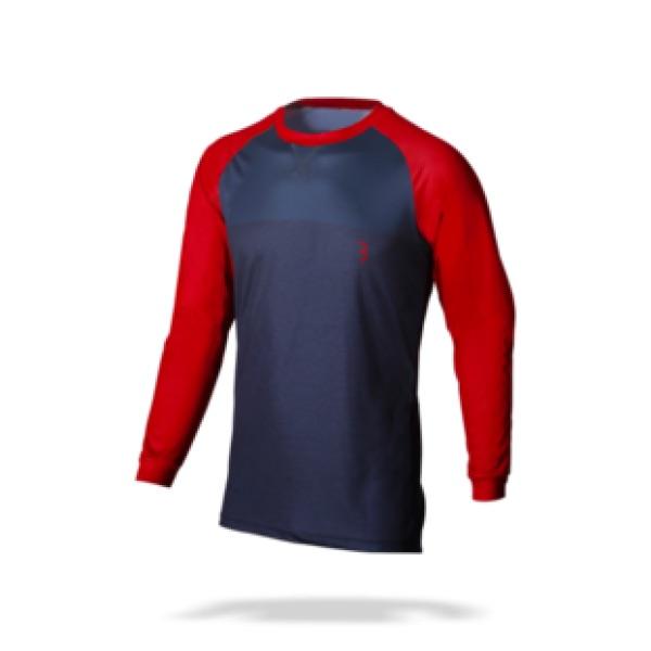 BBB Adventure Switchback mtb shirt met lange mouwen