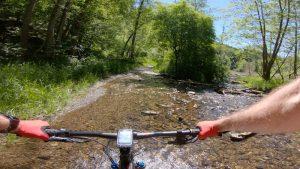Mountainbiken in La Roche route 1-2-3-4
