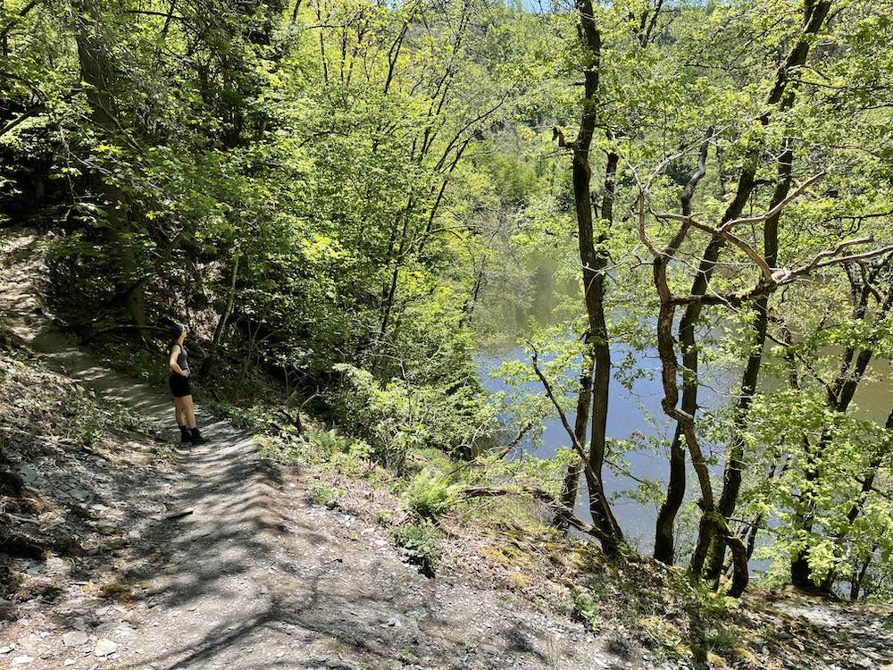 Lac des deux Ourthes hiking trail review