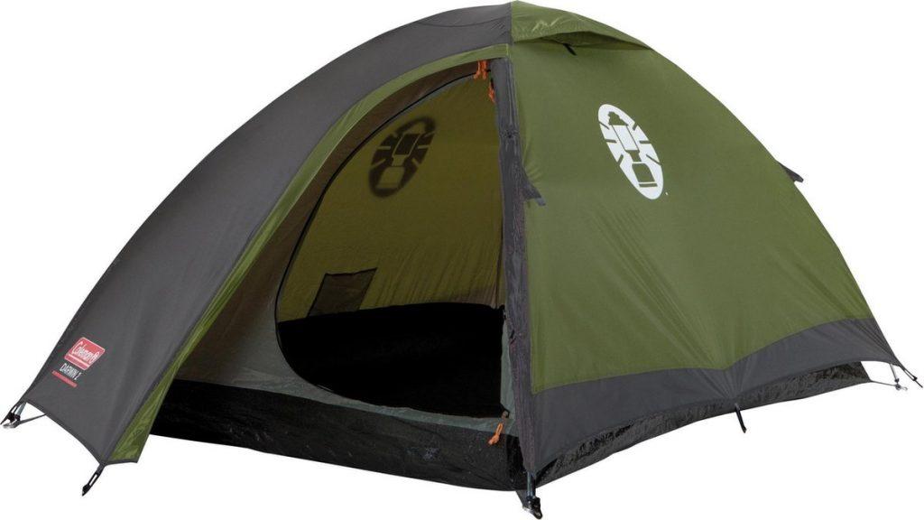 Coleman Darwin 2 bikepacking tent