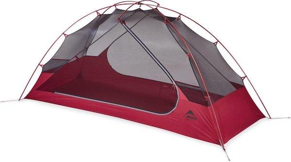 MSR Zoic 1 bikepacking tent