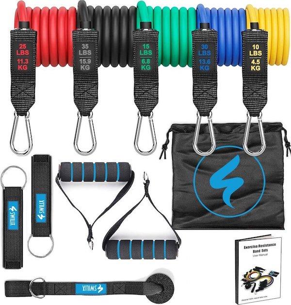 SWILIX fitness elastieken set