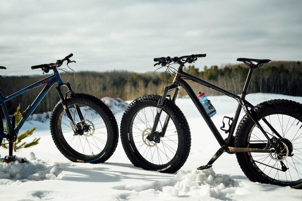 Fatbike of mountainbike de voor- en nadelen