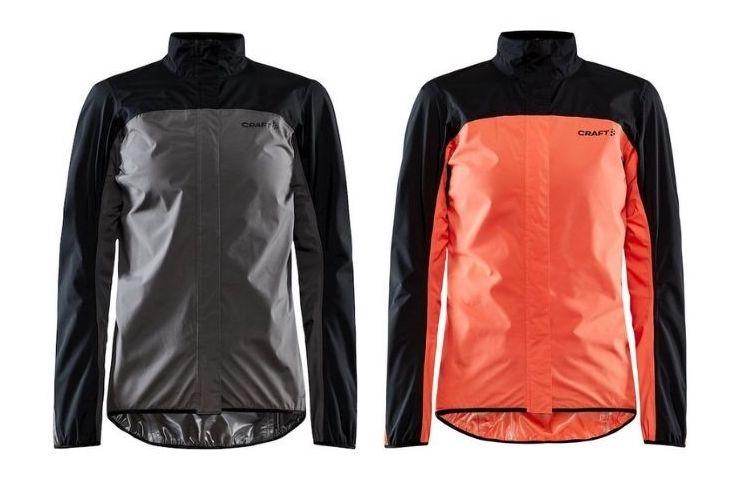 Craft Core Endurance Hydro regenjas voor op de fiets dames