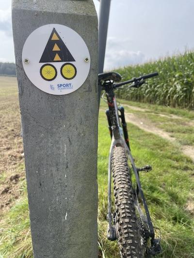Frans Claes mountainbikeroute pijlen