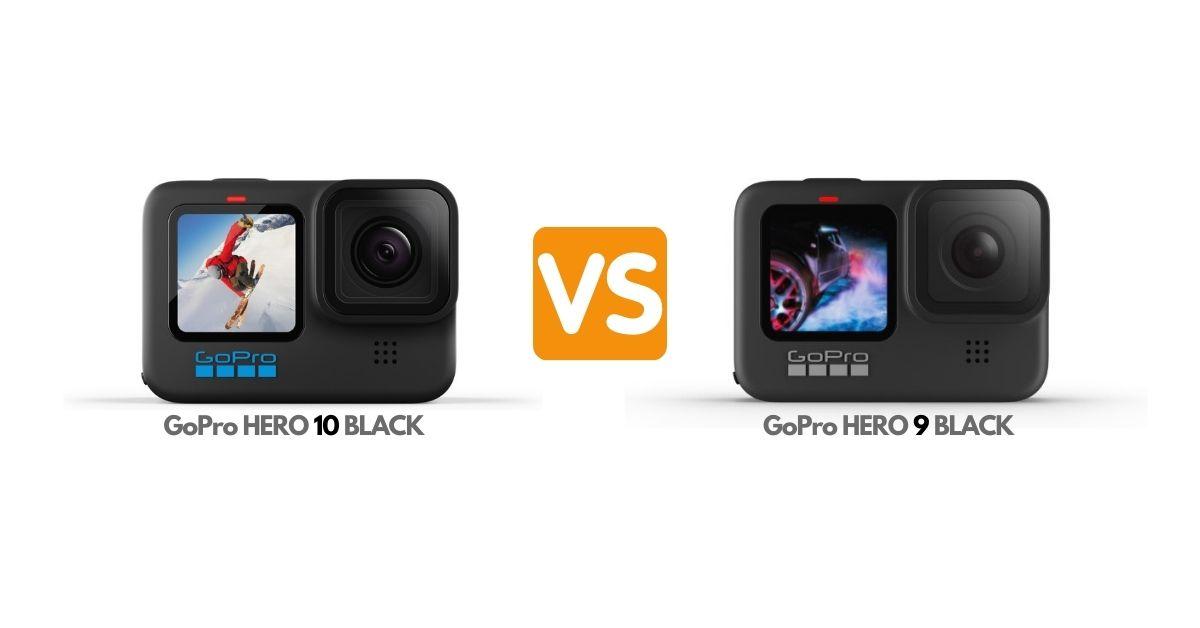 GoPro HERO 10 vs GoPro HERO 9