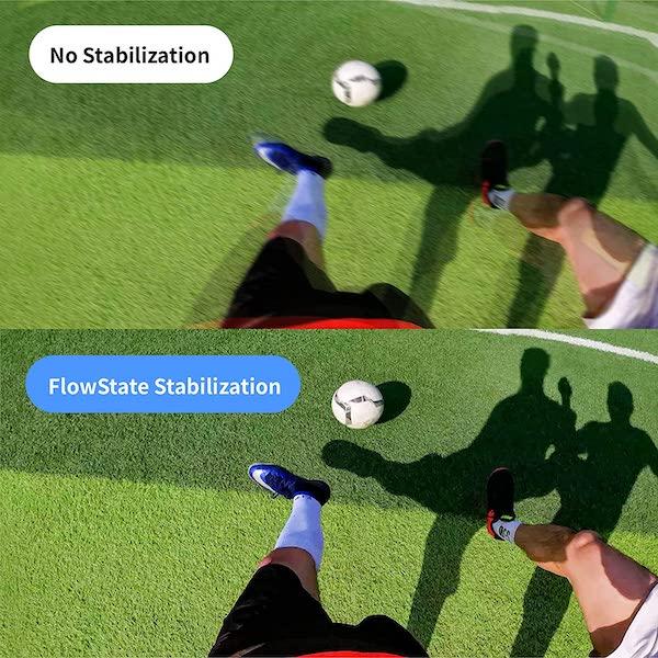 Flow-State stabilisatie van de Insta360 Go 2